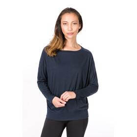 super.natural Kula - Camiseta de manga larga Mujer - azul